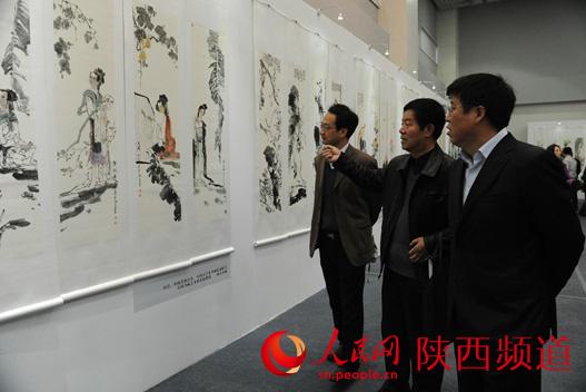 """""""中国美术家协会会员,福建师范大学美术学院教授俞梦彦对中国画四条"""