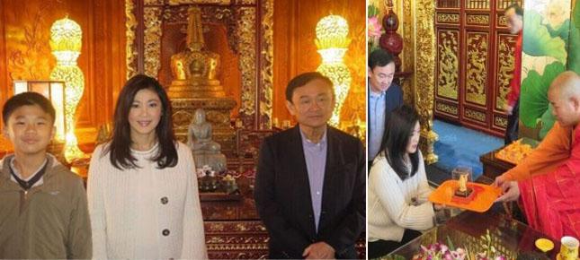 英拉在北京同參拜佛牙舍利