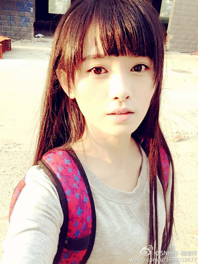 SNH48鞠婧祎评为中国4000年第一美女 激萌
