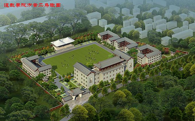 陕西华山风景区平面图