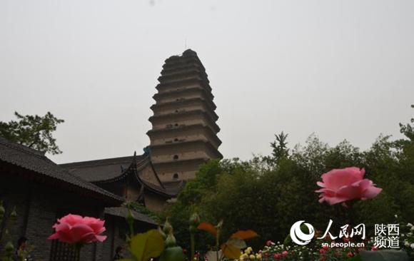 小雁塔的存在佐证了佛教自印度东传的历史