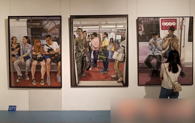 西安美院毕业作品展 每幅画都能看到我们自己的身影