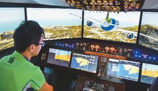 国产大飞机志存高远        2017年5月5日,随着第一架C919大型客机从浦东国际机场第四跑道腾空而起,中国大型客机项目全面进入研发试飞和验证试飞阶段。