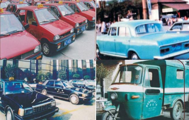 西安第一代出租车啥样?上世纪80年代的哥收入是普通工人10倍