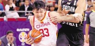 中国男篮蓝队世预赛最后一节逆转约旦