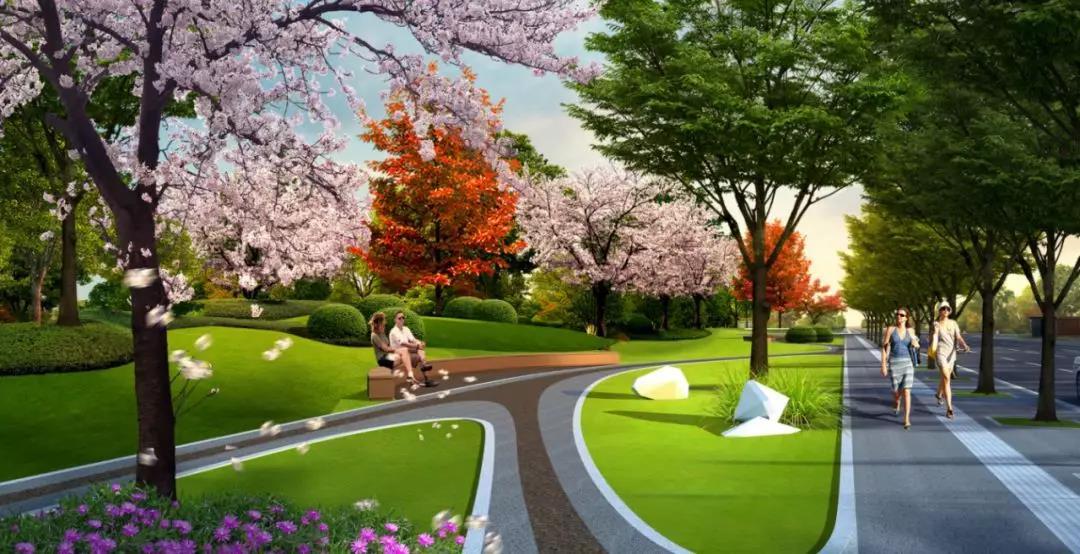 风景区公路景观节点