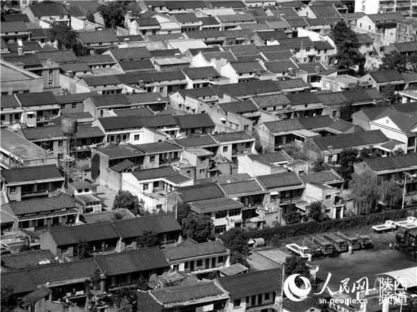 1995年的东岭村落。