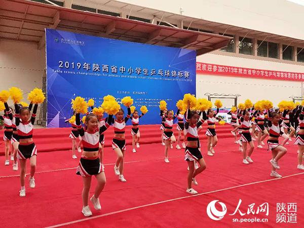 2019年陕西省中小学生乒乓球锦标