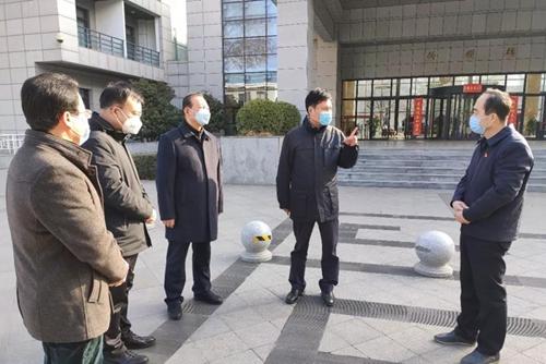 陕西省总工会主席郭大为强调:严防严控有力有效全力做好疫情防控