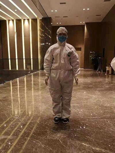 陕西第二救援队队员耿燕:瞒着家人奔赴武汉抗疫第一线