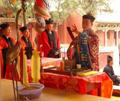 新中国建立后,华山道教也开始了一个新的时期